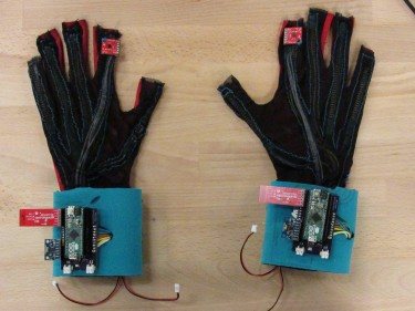 Gloves that translate sign language