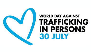 July 30 is World Day Against Trafficking in Persons