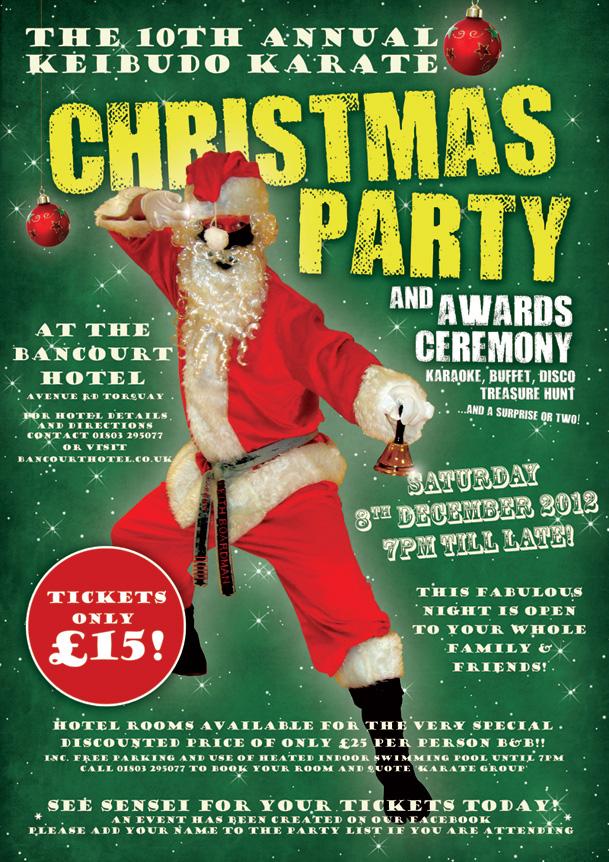 Keibudo Karate Christmas Party 2012