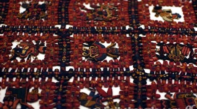 パラカスの織物