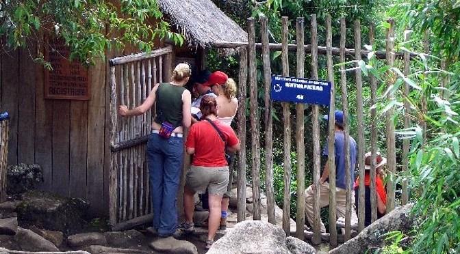 ワイナピチュの入り口