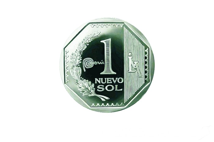 ペルーの通貨単位 ヌエボソルからソルに変更