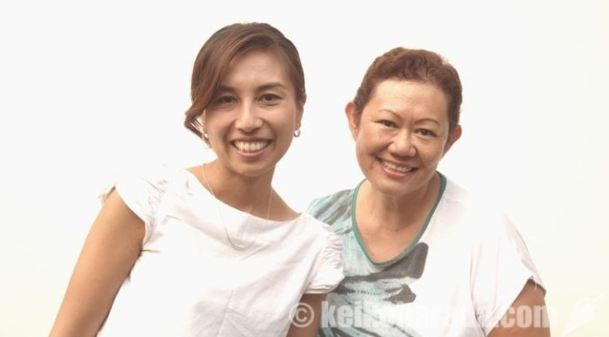 佐々木麻里子さんと佐野ルリさん