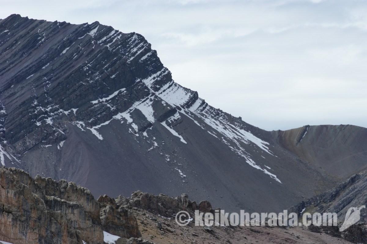 ペルーの氷河 半世紀で57%消失