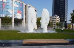 'Love' fontein in Leeuwarden