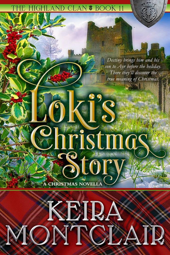 Book Cover: Loki's Christmas Story