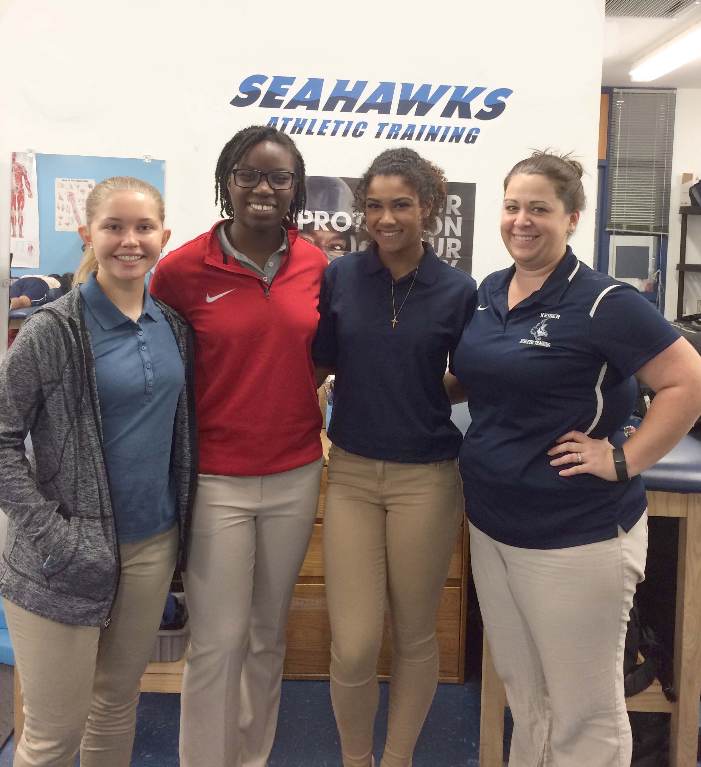 Flagship Athletic Training Department Welcomes High School