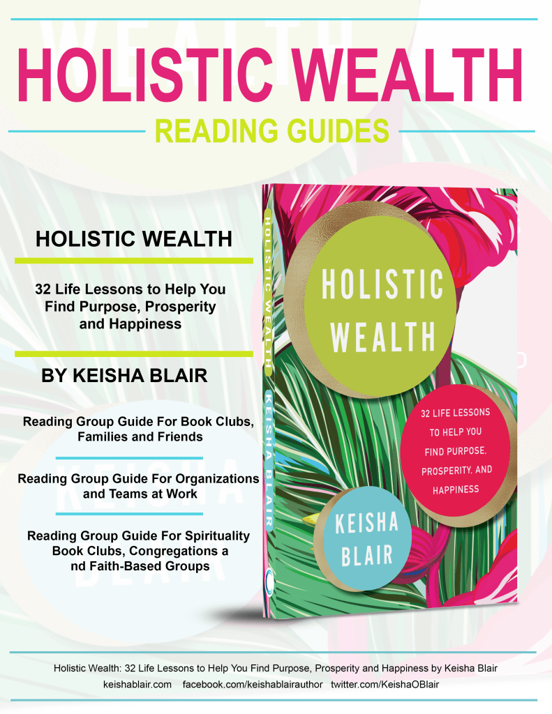 Holistic Wealth Reading Guide Cover Page