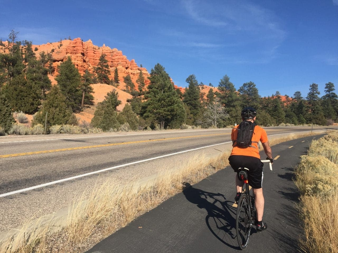 Keith biking Red Canyon