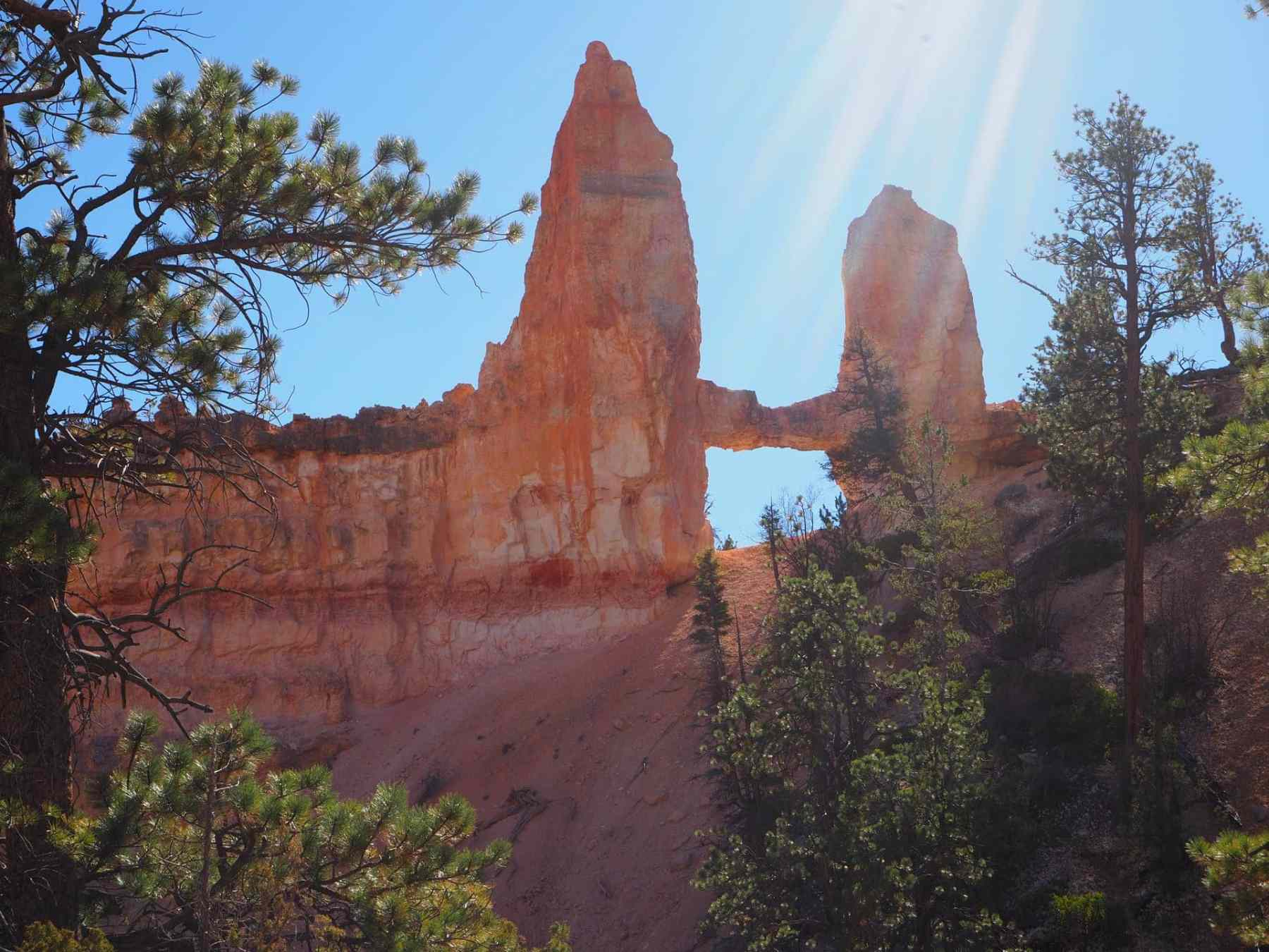 """Tower Bridge"" in Bryce Canyon National Park"