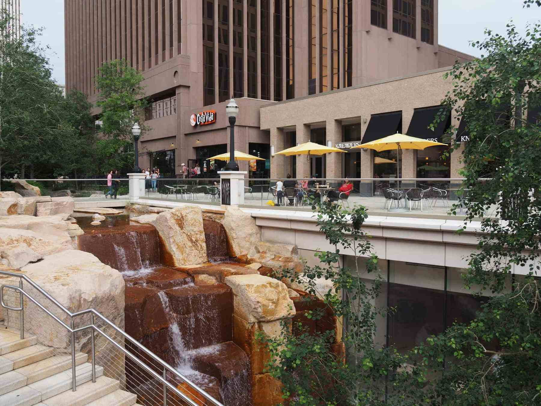 City Creek Mall in Salt Lake City