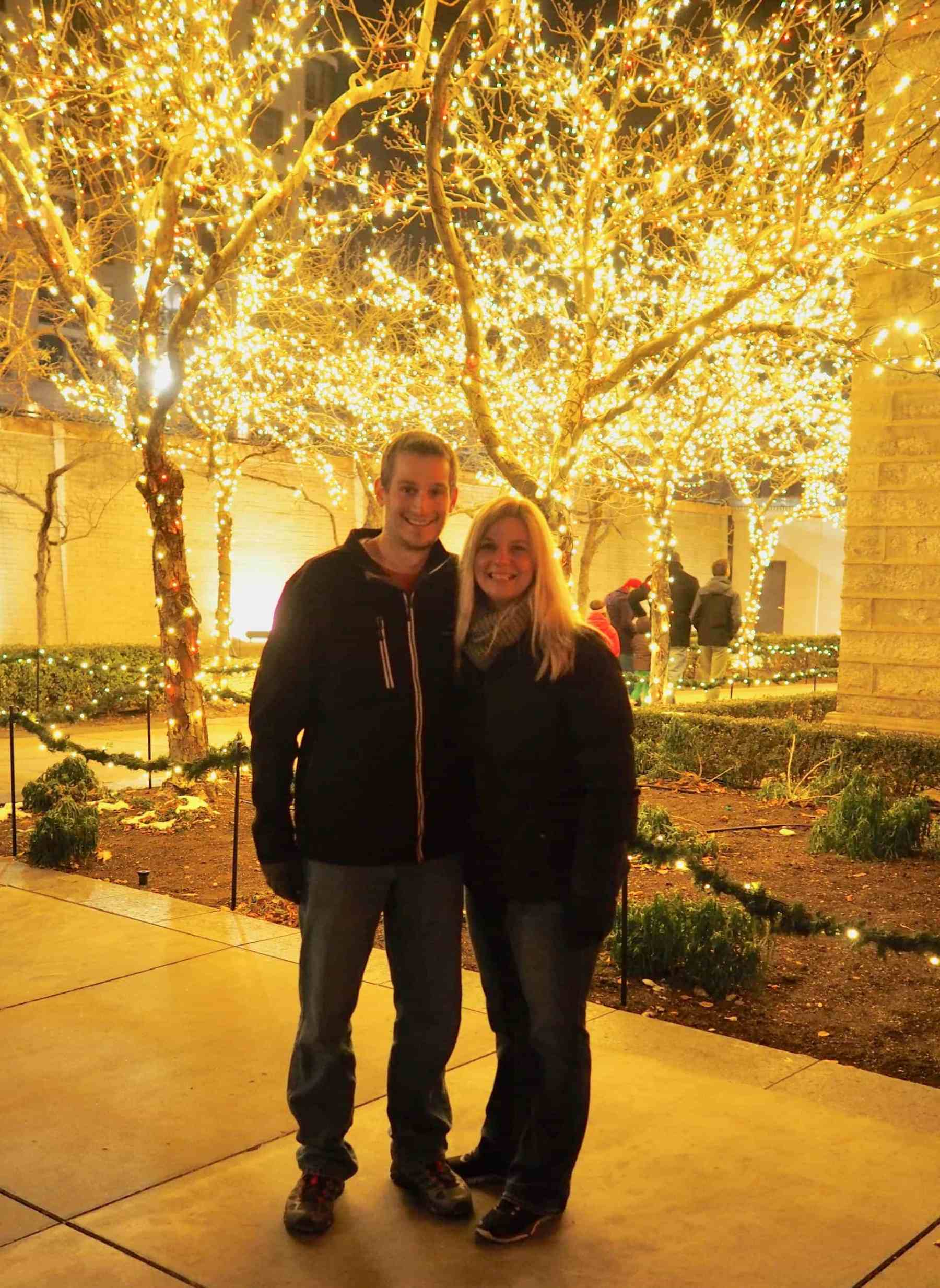 Great night to stroll around Temple Square