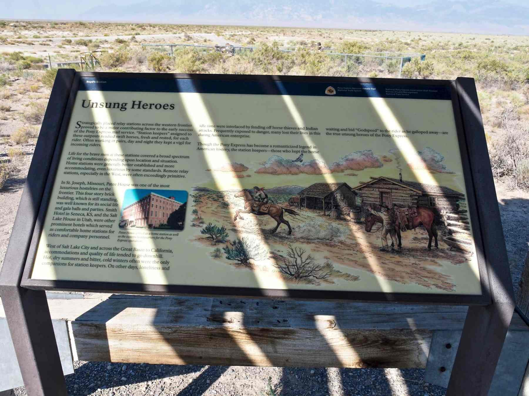 info about the Pony Express