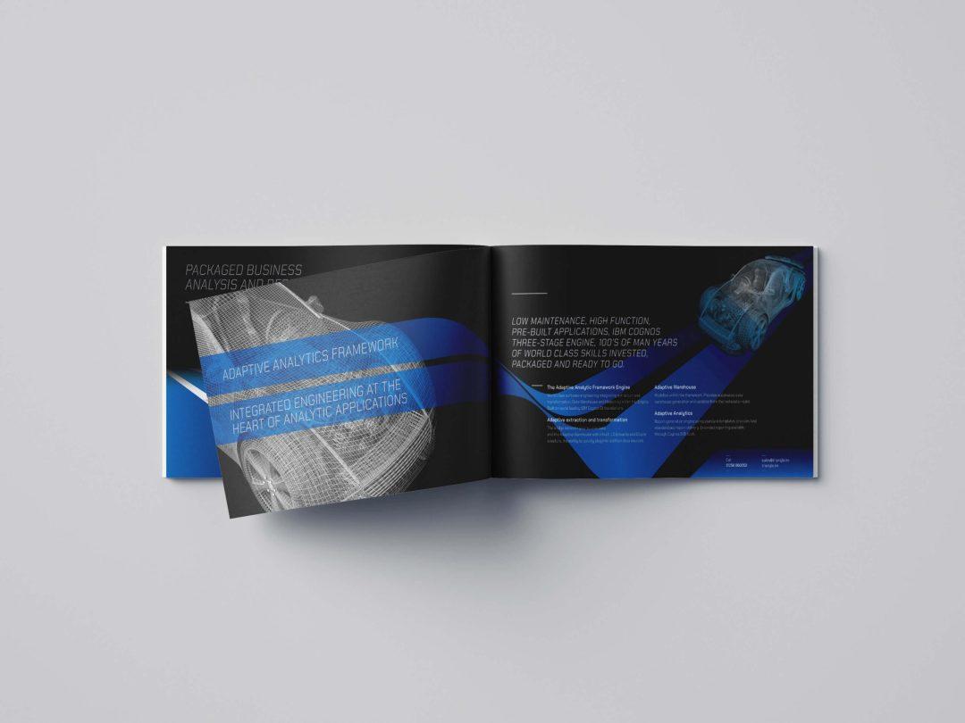 Marketing Brochure Design IBM Cognos