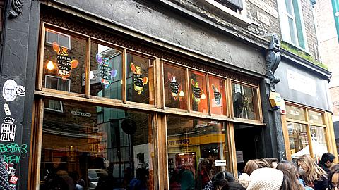 Cereal Killer Cafe Storefront