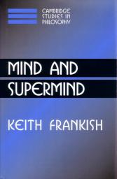 Mind and Supermind front cover