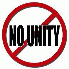 No unity