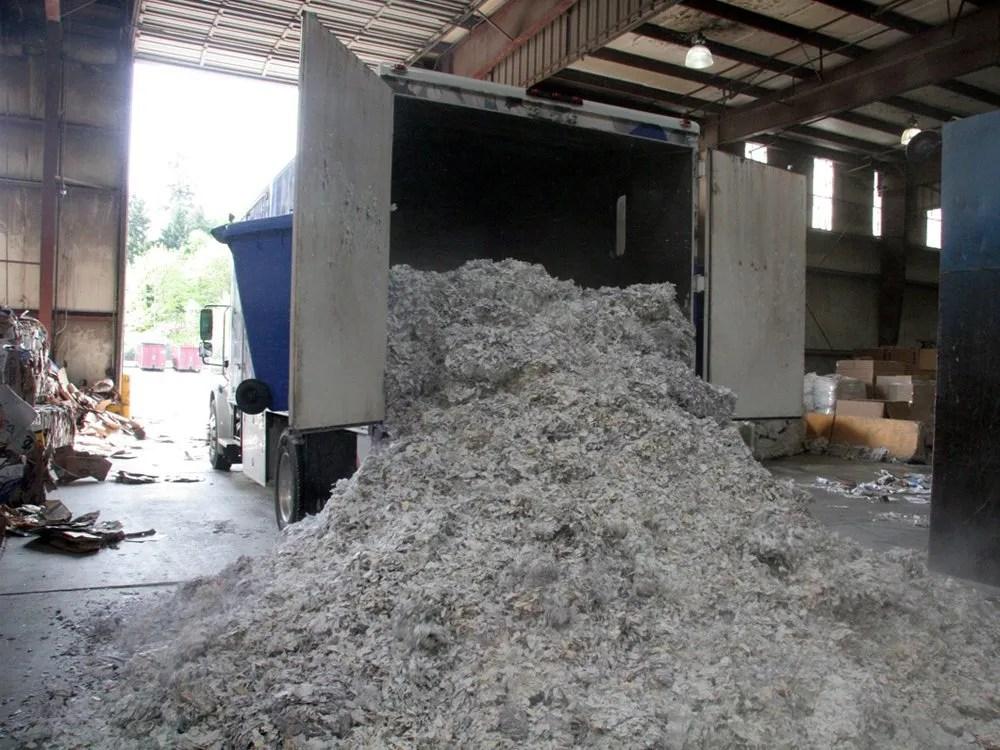 Unloading Mobile Document Shreds