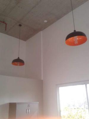 Luminárias instaladas