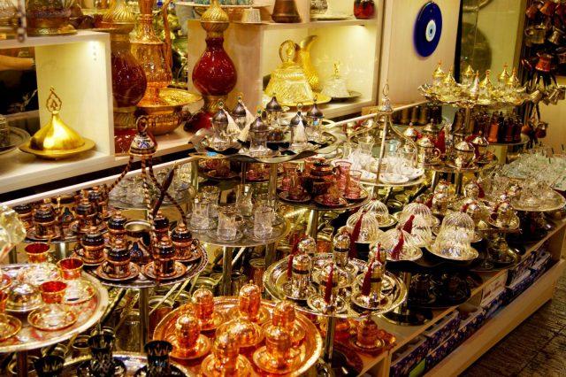 Turkey,GrandBazaar,TeaSets