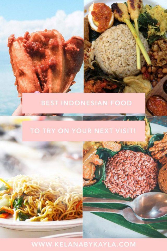 best Indonesian food