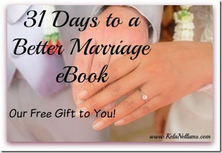 31 Days to a Better Marriage eBook Our Free Gift to You