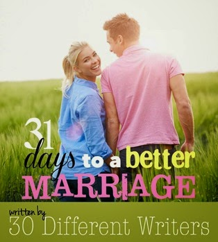 New eBook 31 days to a better marriage