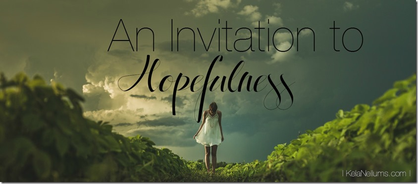 Pursuing What Is Excellent -- An Invitation to Hopefulness