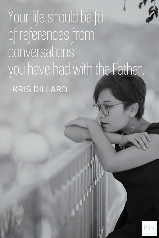 A life full of conversations - Kris Dillard