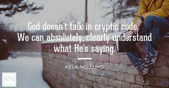 God isn't cryptic