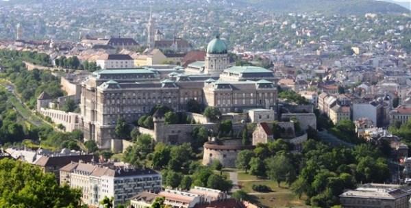 Citadel'den Kale bölgesinin görünüşü