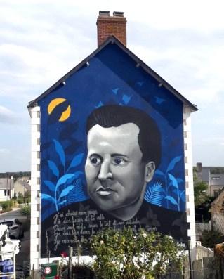Fresque murale Louisfert