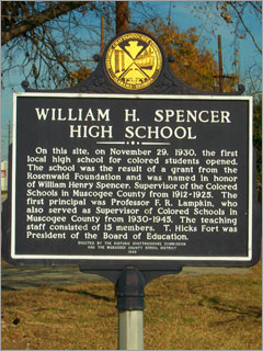Image Credit: William H. Spencer High School