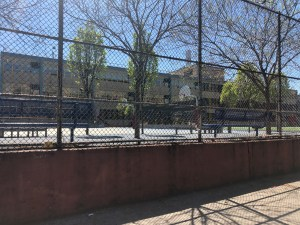 city basketball court