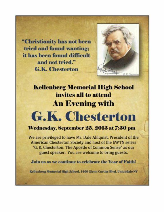 Chesterton Evening