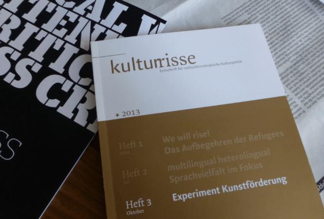 Kulturrisse Heft 3 2013