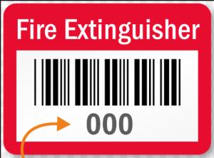 fire extingisher bar code
