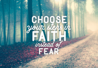 How to Choose Faith Over Fear. Isaiah 1
