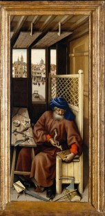 Right Panel of the Merode Altarpiece