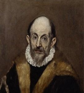 El Greco portrait from the Met