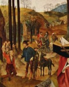 Portinari Altarpiece detail from the right side panel