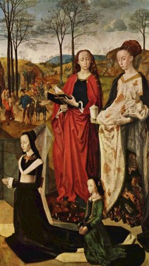 Right Side Panel of the Portinari Altarpiece