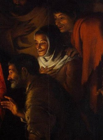 Detail from Murillo's Adoration of the Shepherds