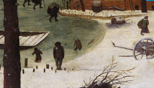 Detail from Bruegel's Census at Bethlehem