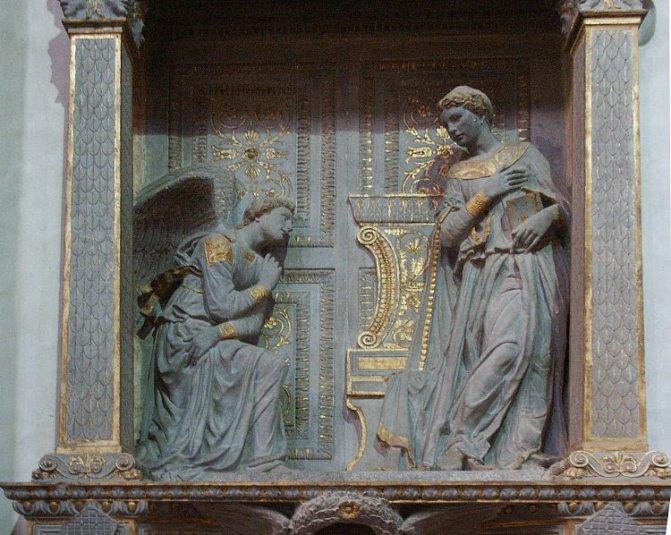 Donatello's Annunciation
