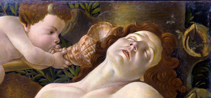 Teaching Botticelli's Venus and Mars