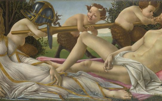 Botticelli's Venus and Mars