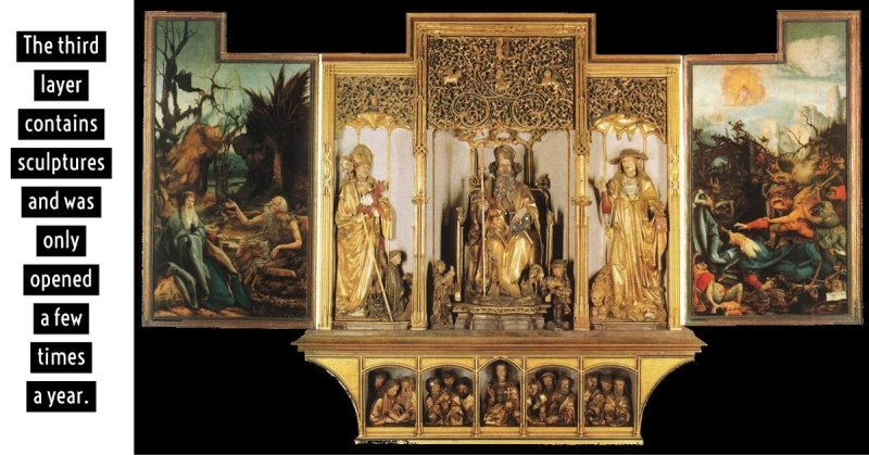 Isenheim Altarpiece by Grunewald