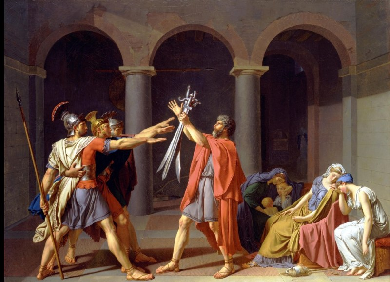 Toledo version of the Oath of the Horatii
