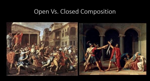 Open Vs. Closed Composition